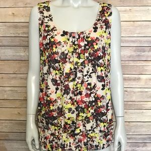 {maurices} colorful sleeveless blouse